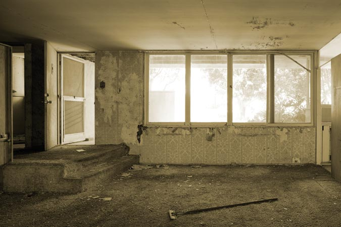 Image result for dilapidated home interior