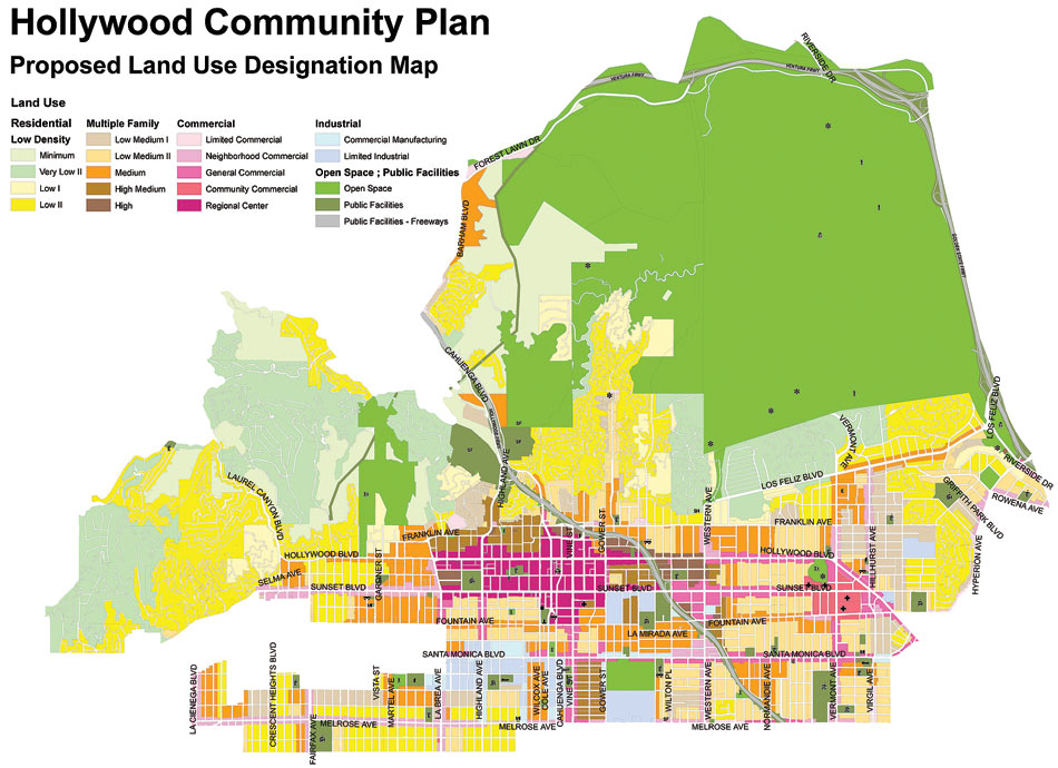 Hollywood Facelift Archpapercom - Los angeles zoning map