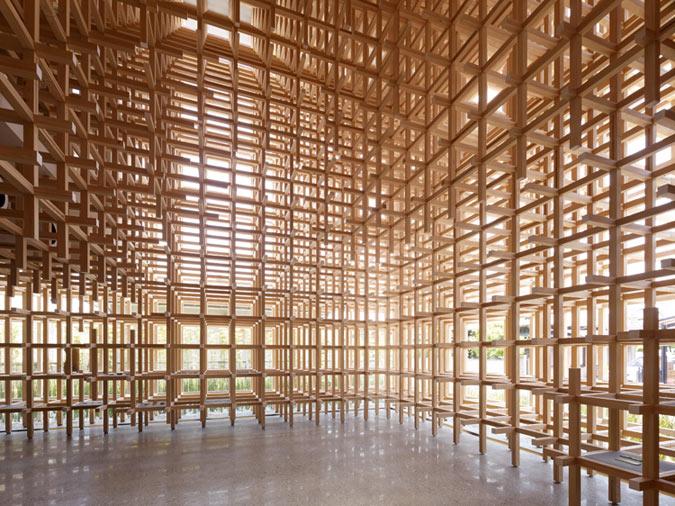 Wood Architecture: Kengo Kuma Au Naturel