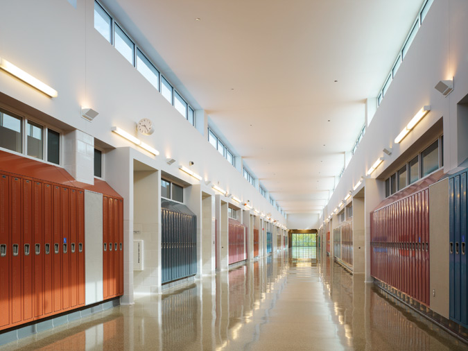 Classroom Lighting Design ~ Spotlight south shore high archpaper