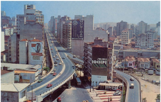 The viaduct in the 1970s catered for the modern ideals of urbanism (Courtesy Triptyque)