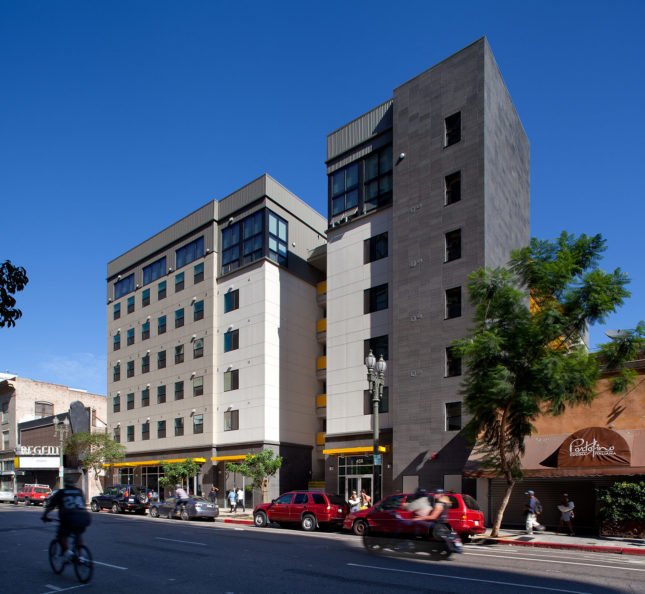 New Genesis Apartments by Killefer, Flammang (Mike Park/Courtesy Skid Row Housing Trust)