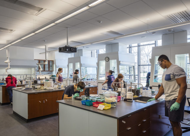 Lab classroom (©Richard Barnes)