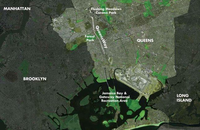 Map of QueensWay 1