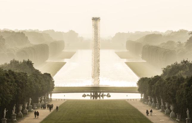 Olafur Eliasson installs site-specific art at Versailles