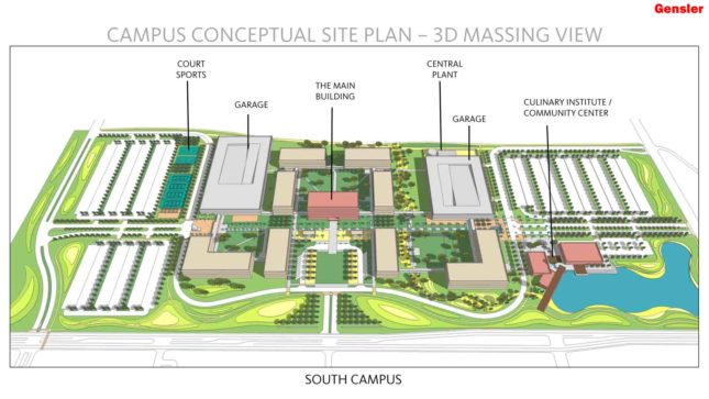 del mar east campus map Gensler Gets The Green Light For New Del Mar College Campus del mar east campus map