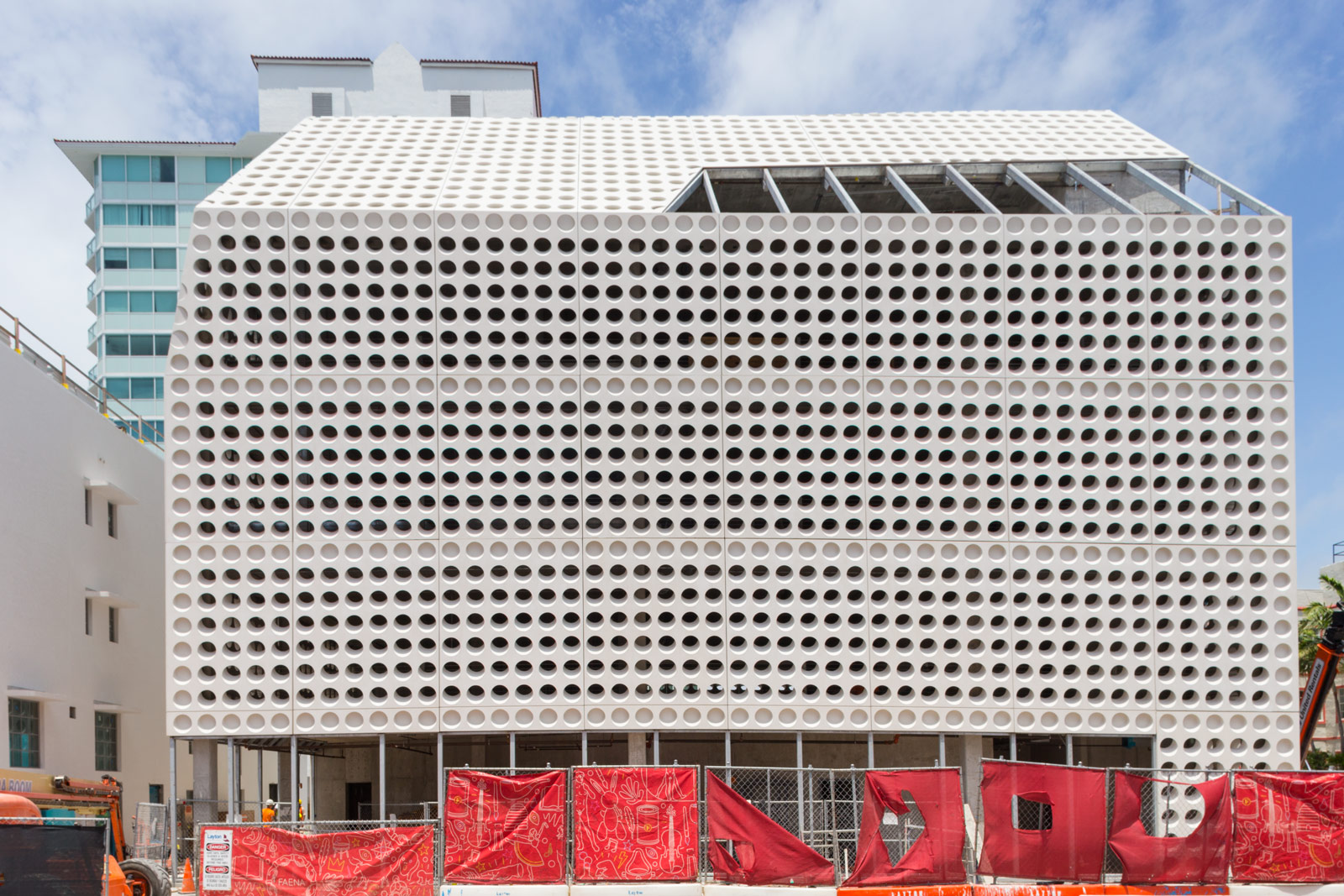 Oma Looks To Break New Ground With The Faena Car Park In