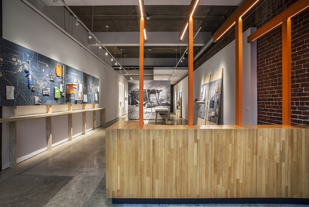 Interior View Of The Lobby At 67 Broadway. (Courtesy Black Mountain ...