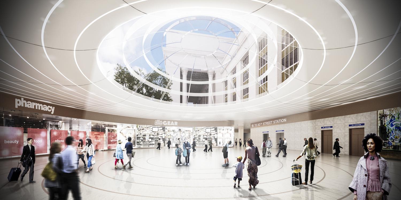 Underground Concourse To Septa Mfl