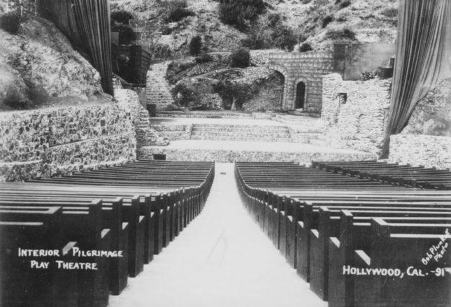 Circa 1931, Pilgrimage Theatre. (Bob Plunkett)