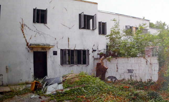 The house suffered extensive damage from nature, vandels and subdivision development site work. (Courtesy Gina and Gary Anaplea via the Cincinnati Preservation Association)