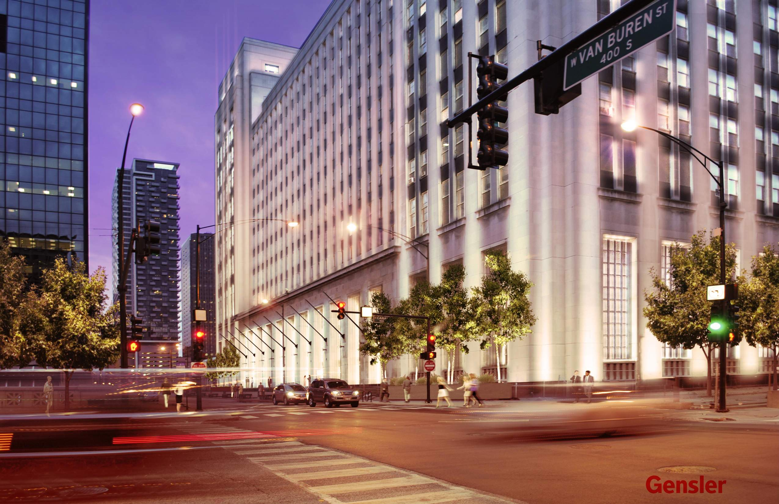 Chicago 39 S Old Main Post Office Redevelopment Moves Forward