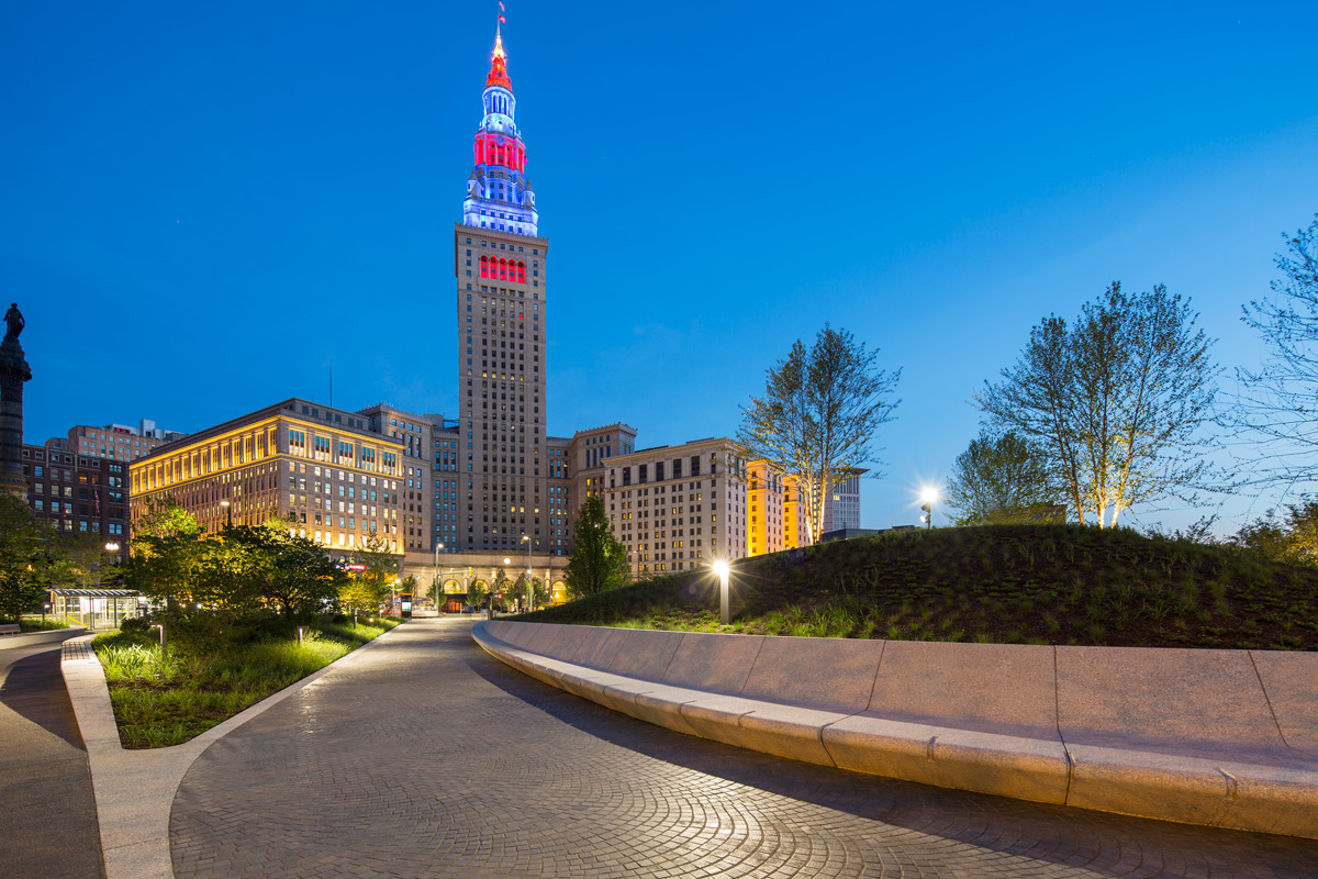 Cleveland Public Square Reopens After Major Renovation