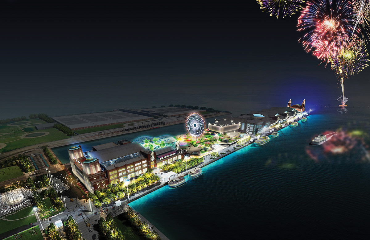 Chicago S Navy Pier Announces Plans For A New Hotel