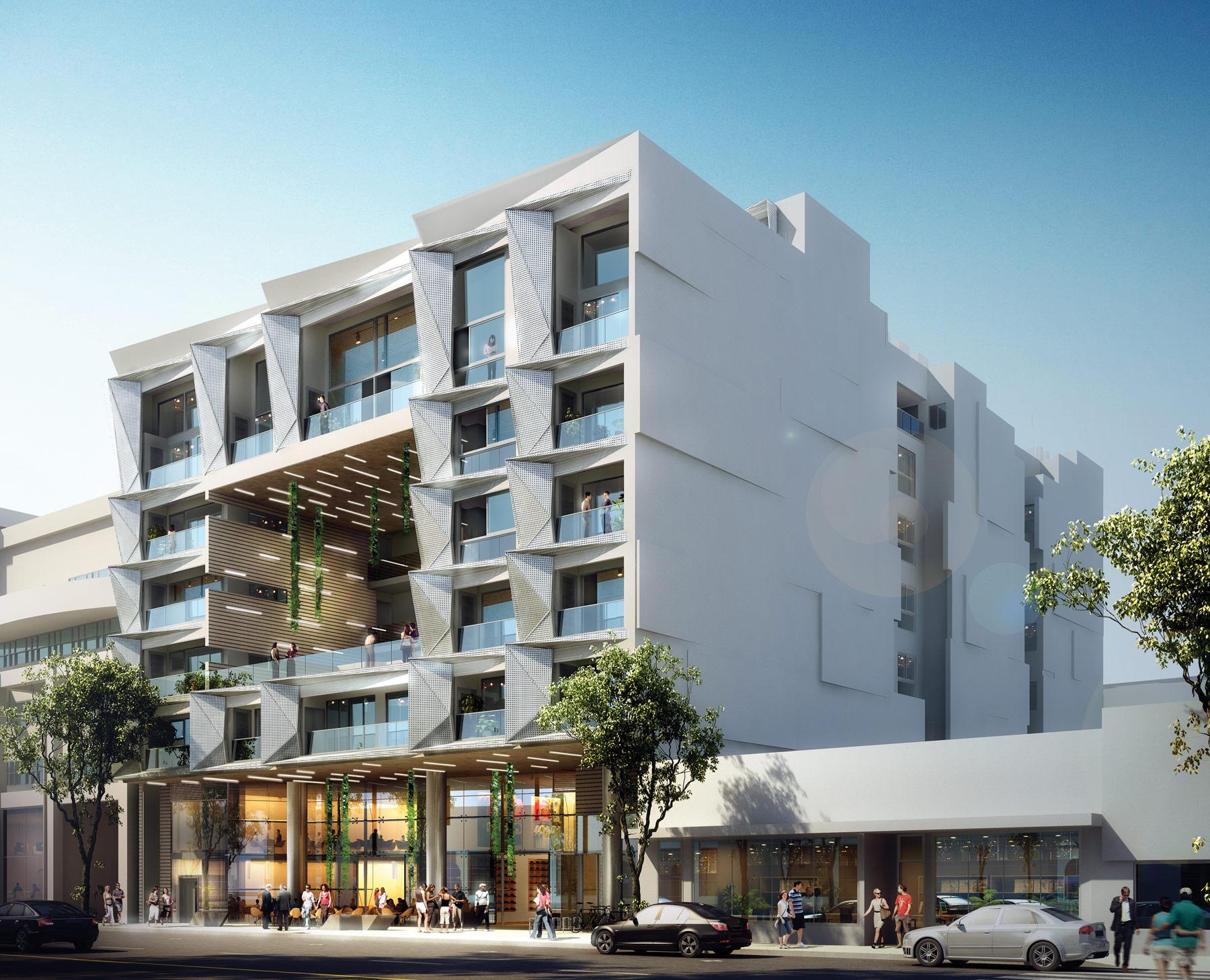 Santa Monica Beach Apartments