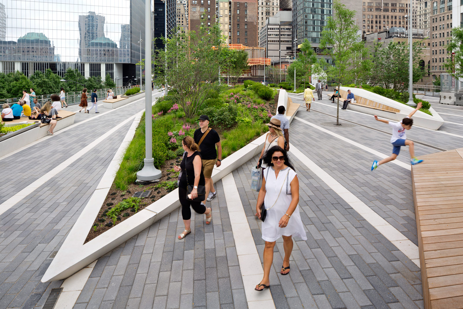 Liberty Park Fills A Critical Role In The World Trade