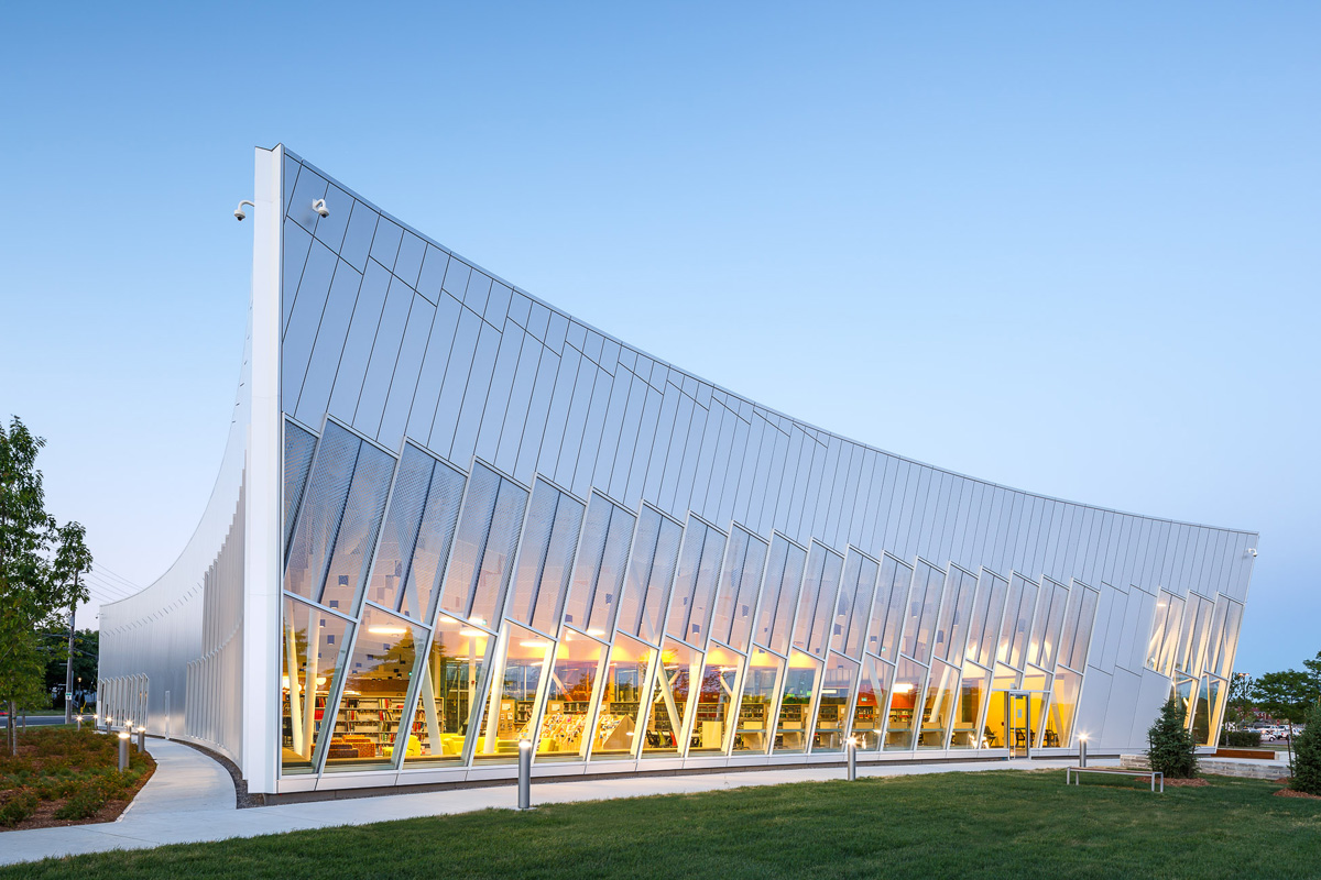 Zas architects designs the vaughan civic centre resource for New space architects
