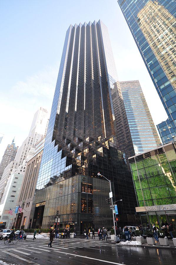 Trump Tower Manhattan (Courtesy Wikimedia Commons / Jorge Láscar)