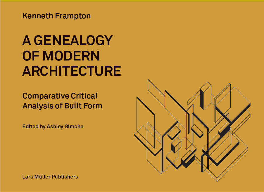 Book Cover Design Jobs Nyc ~ Review a genealogy of modern architecture archpaper