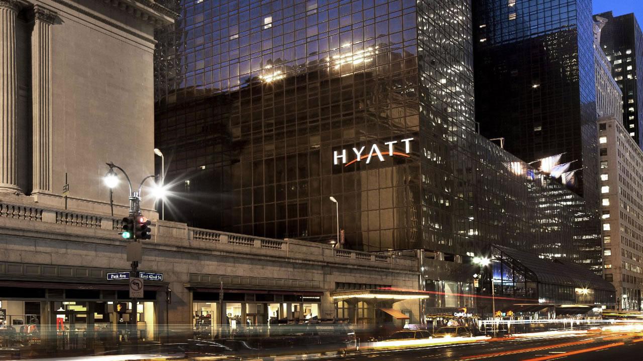 Grand Hyatt Hotel New York Image Via