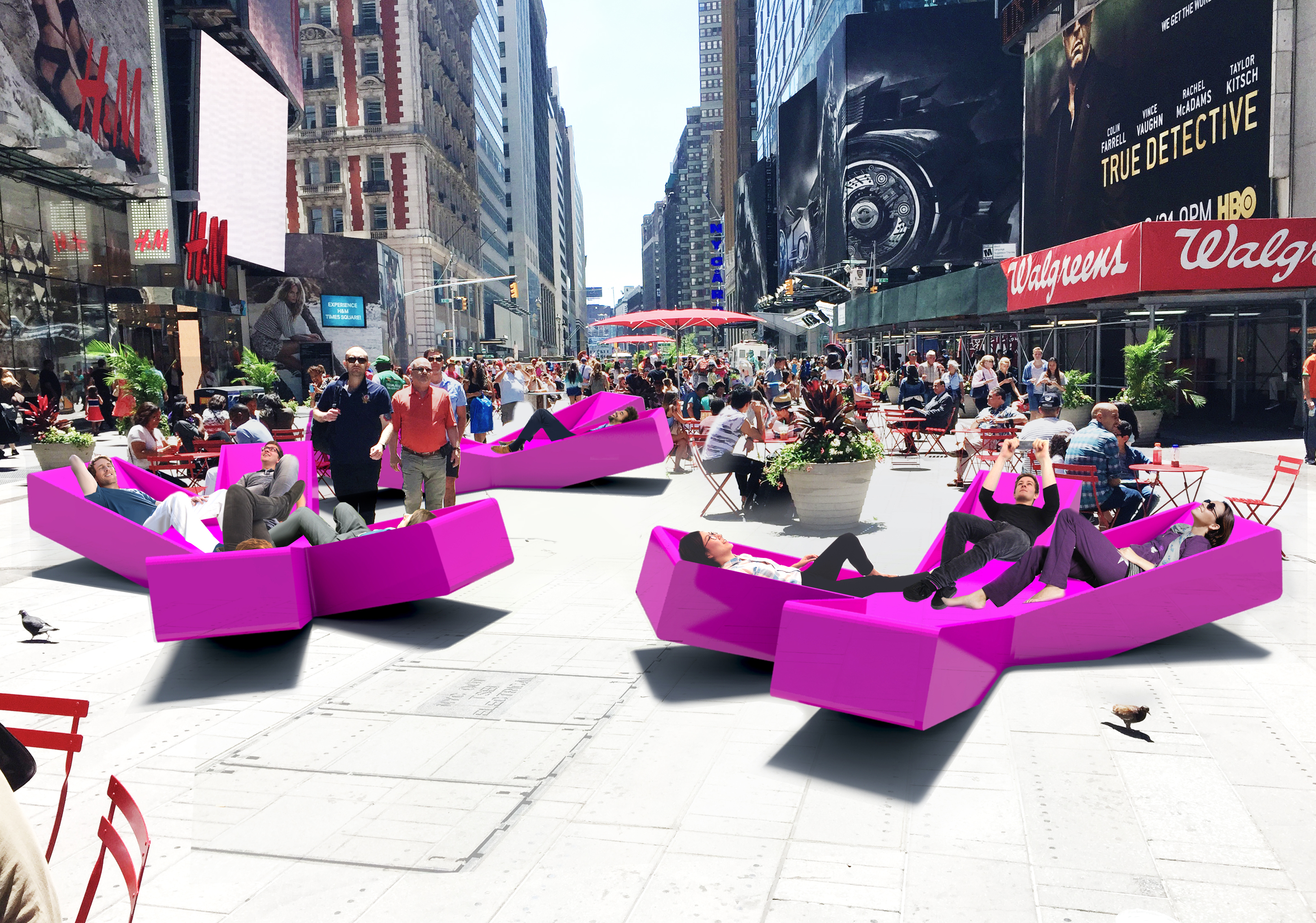 Xxx times square with love comes to times square for Architecture jobs nyc