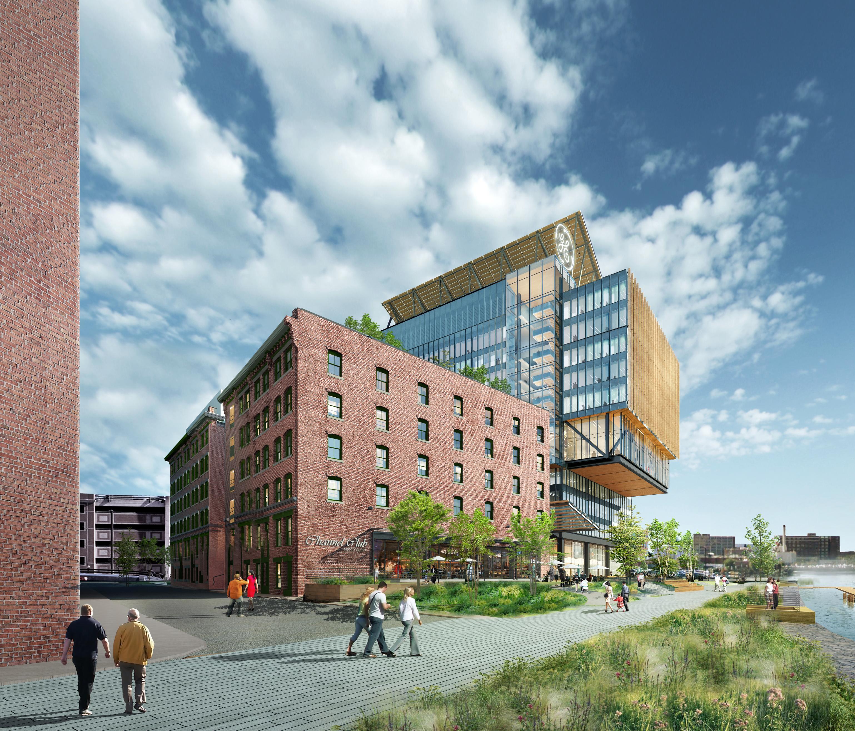 Gensler Releases Renderings Of New GE Boston Headquarters