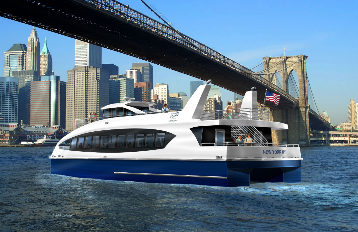 Nyc Ferry Expansion To Launch Summer 2017 Connecting