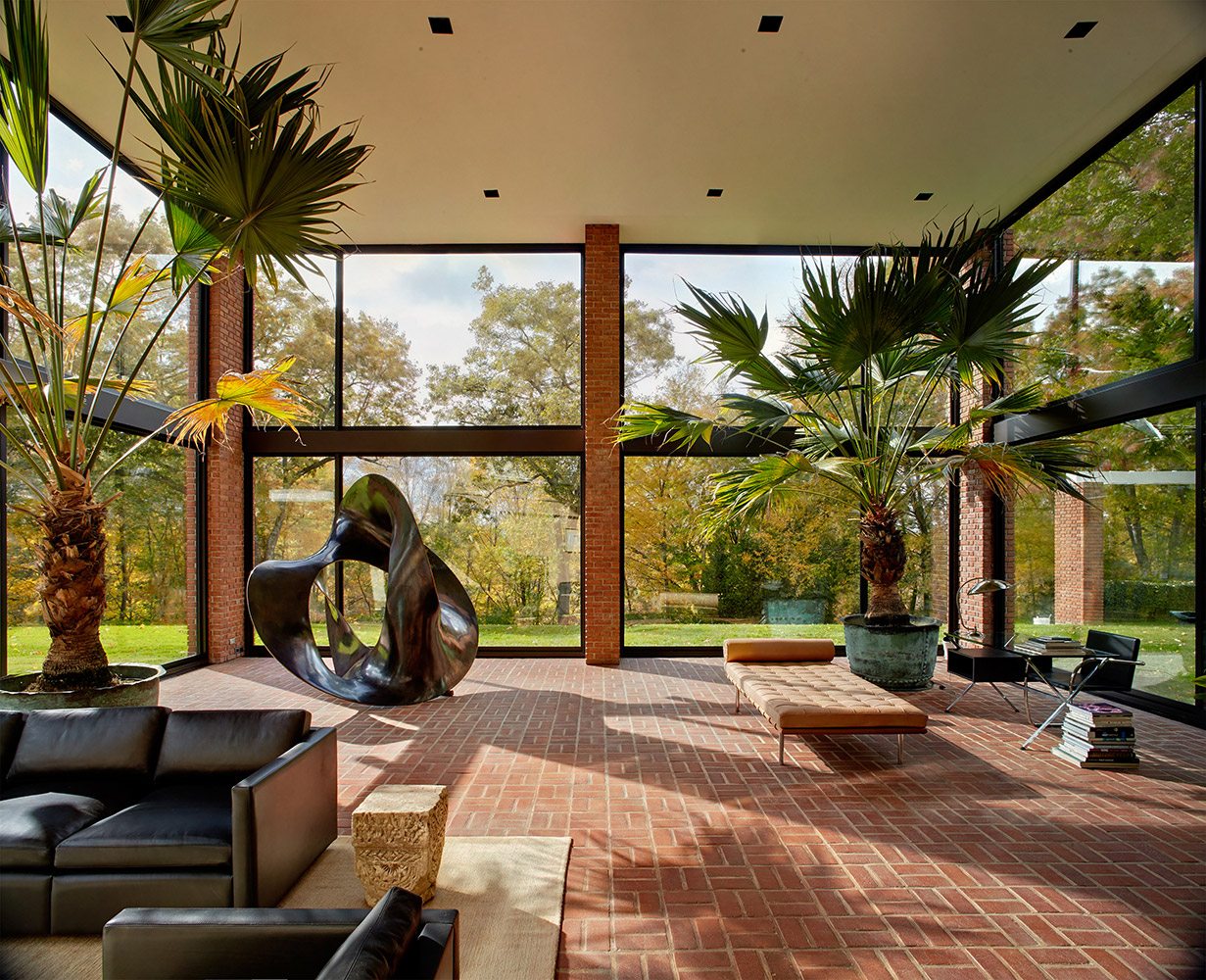 philip johnson�s new canaan special study tour archpapercom