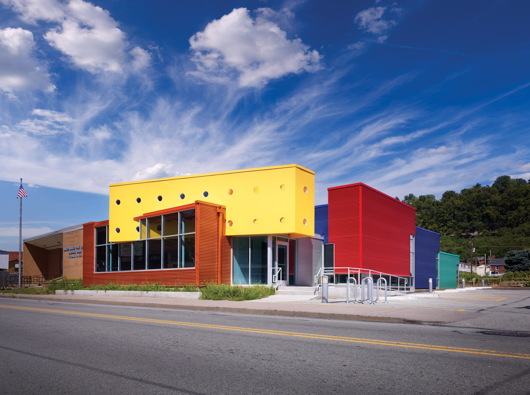 Sharpsburg Library Makes An Impression Thanks To Colorful