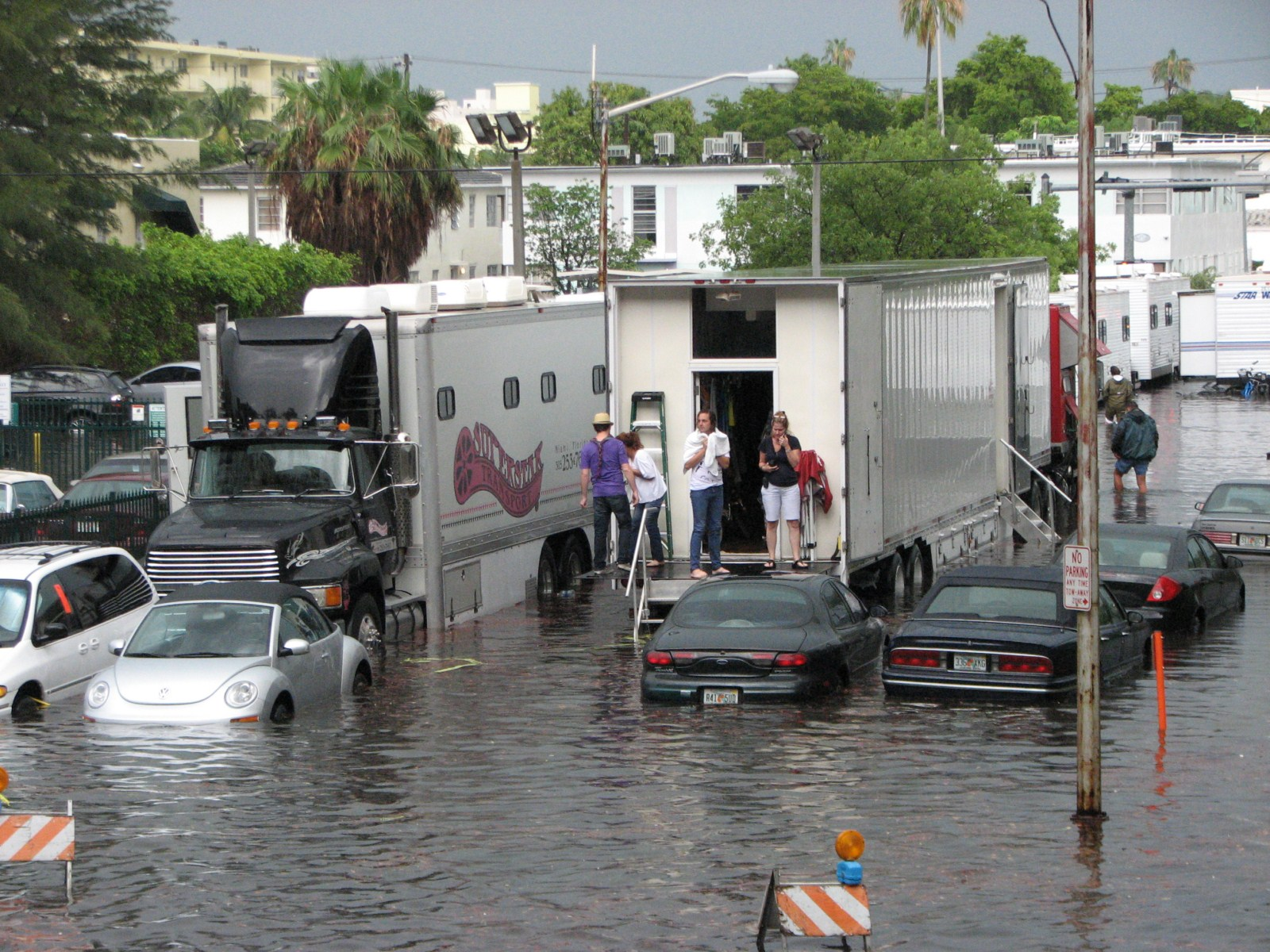 Miami Battles Rising Floodwaters Even As Development Booms