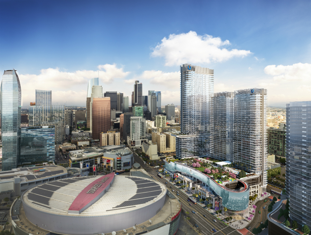 Oceanwide Plaza Developers Release New Renderings