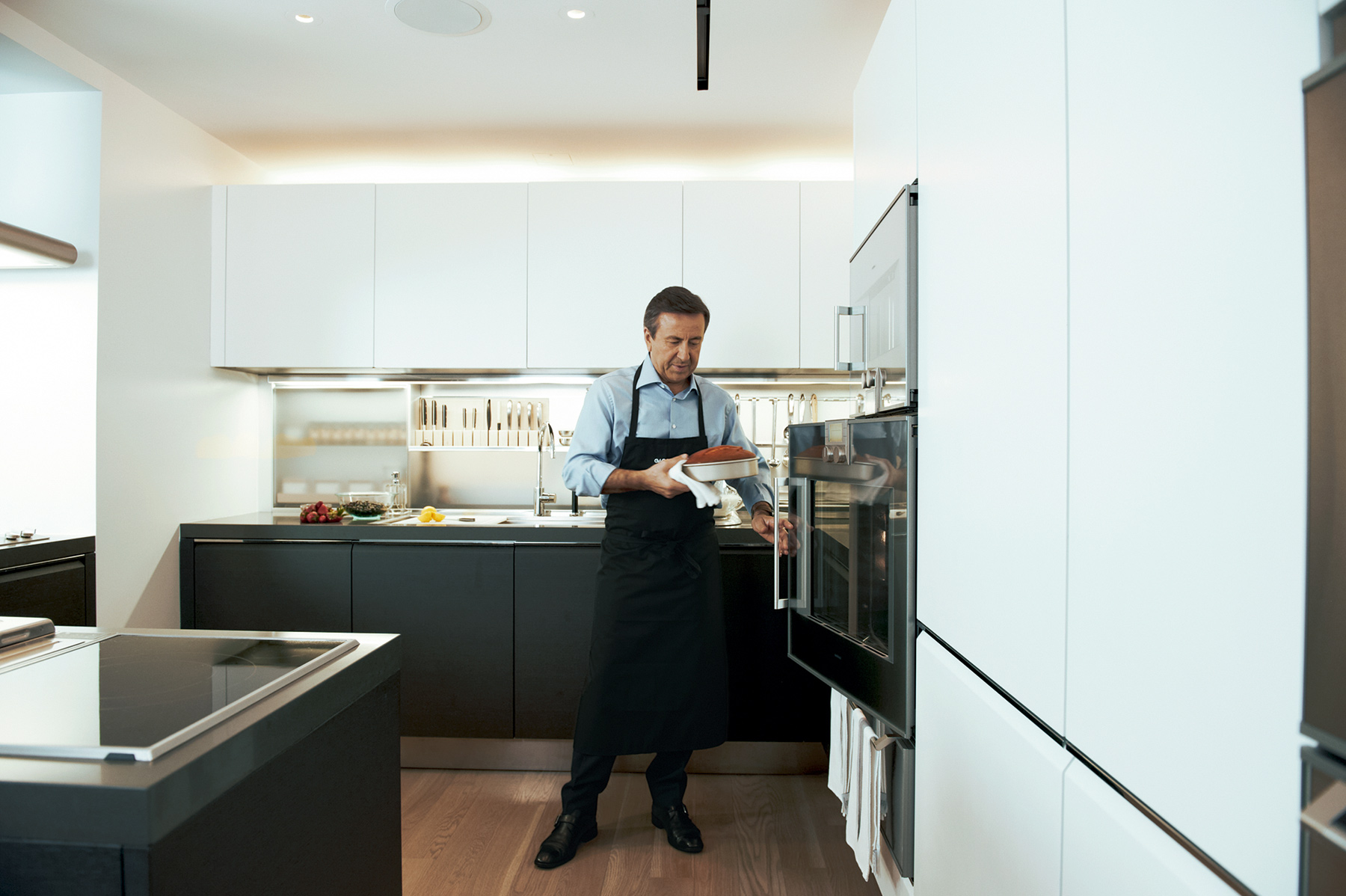 Chef Daniel Bouludâu20ac™s Newly Redesigned Kitchen Neatly Contains A Multitude  Of His Favorite Part 75