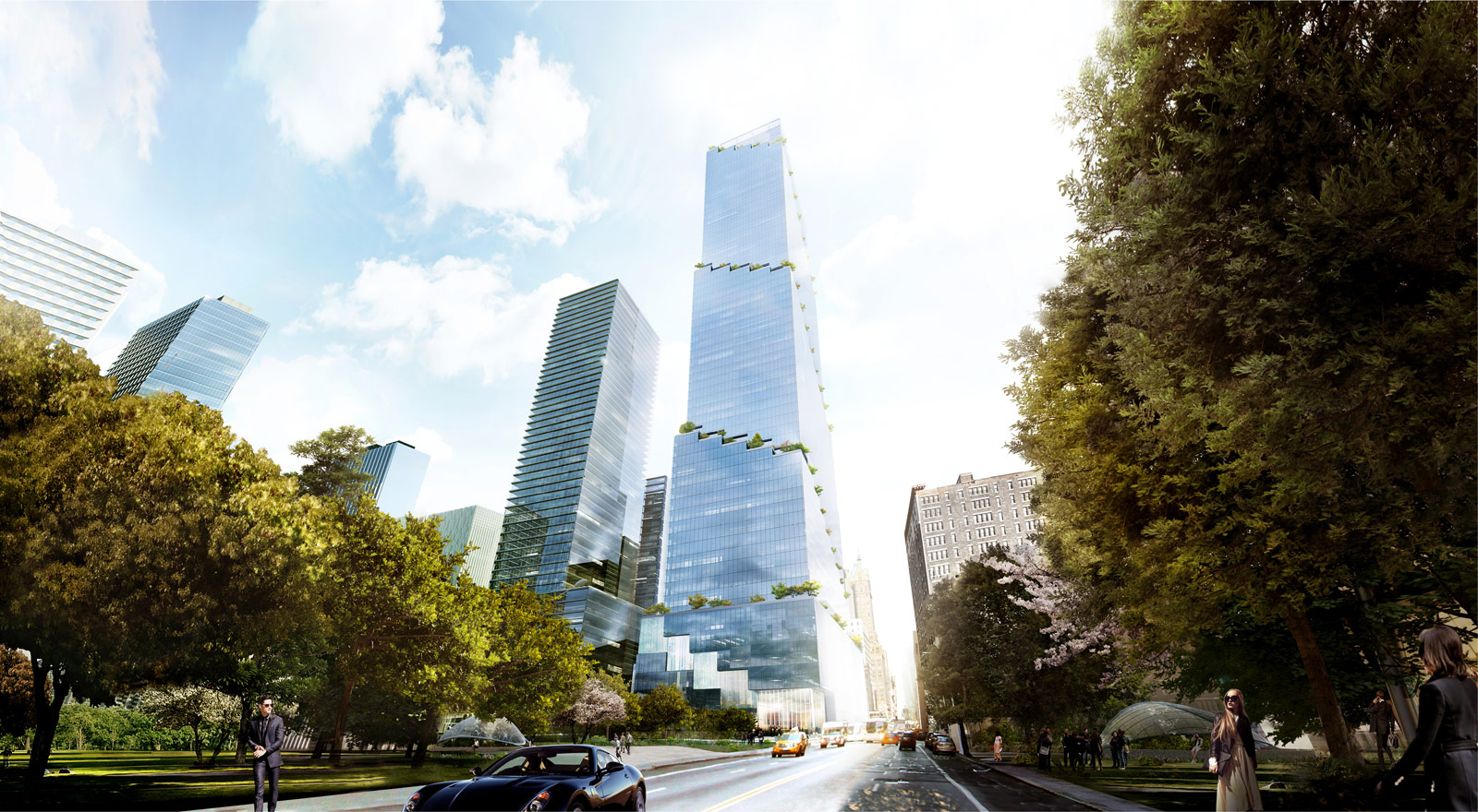 Tishman Speyer Files Plans For 3 2 Billion 65 Story