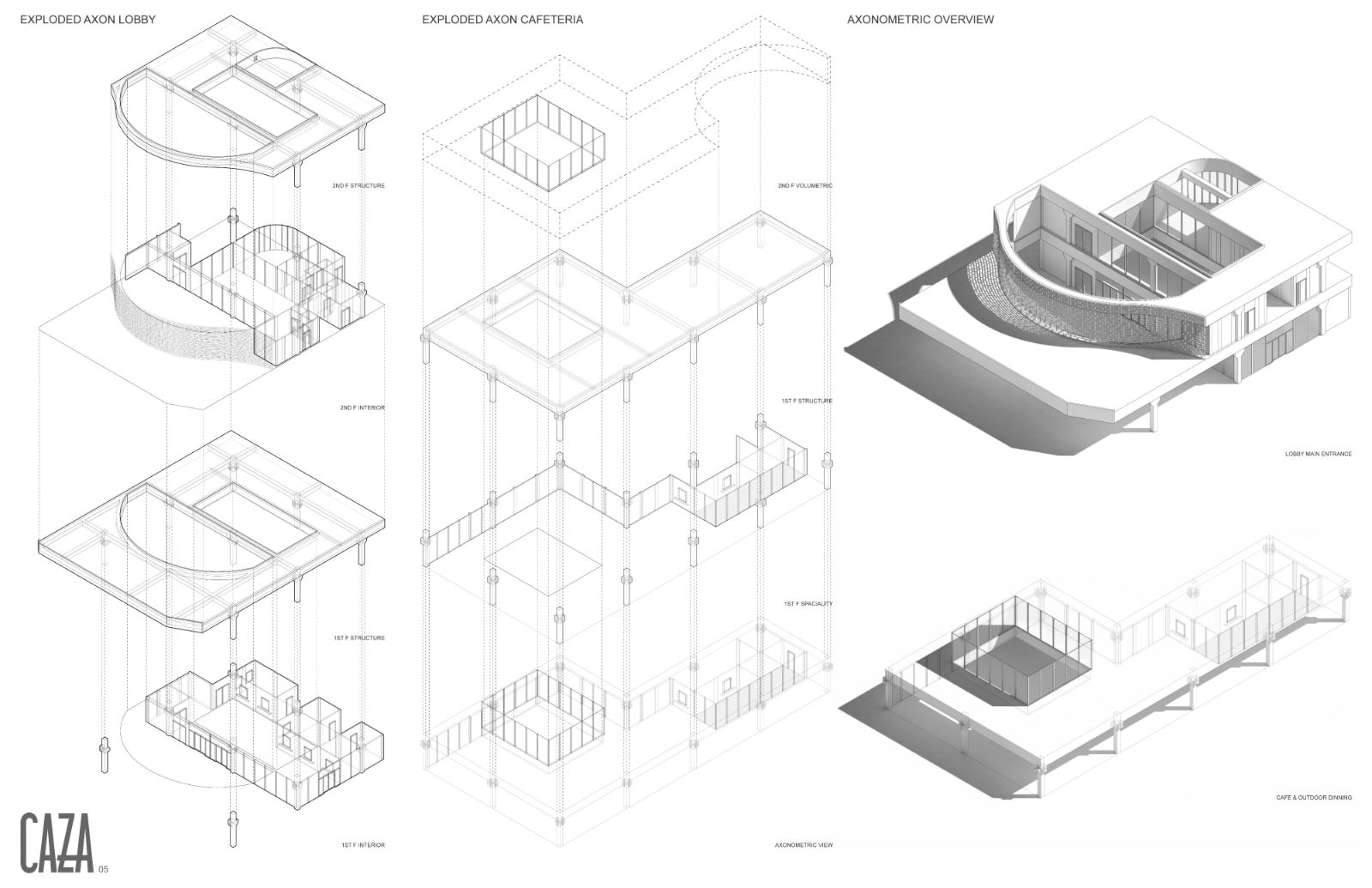 05 detailed axonometric views - archpaper com