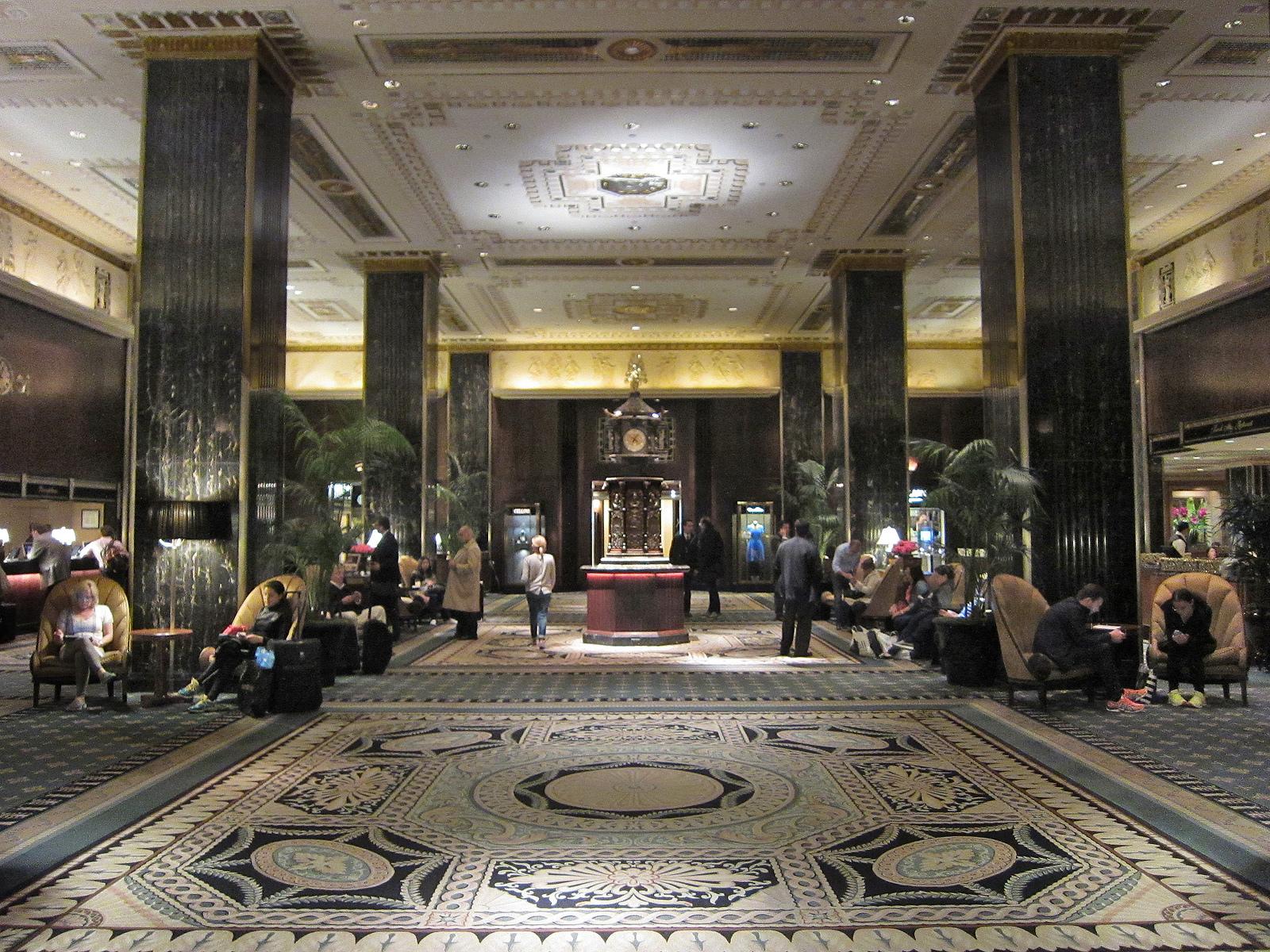 waldorf astoria's art deco interiors one step closer to landmark
