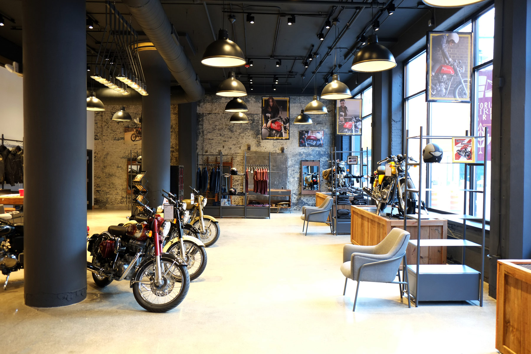 Royal Enfield Motorcyle Manufacturer Opens First US Store In Milwaukee Courtesy