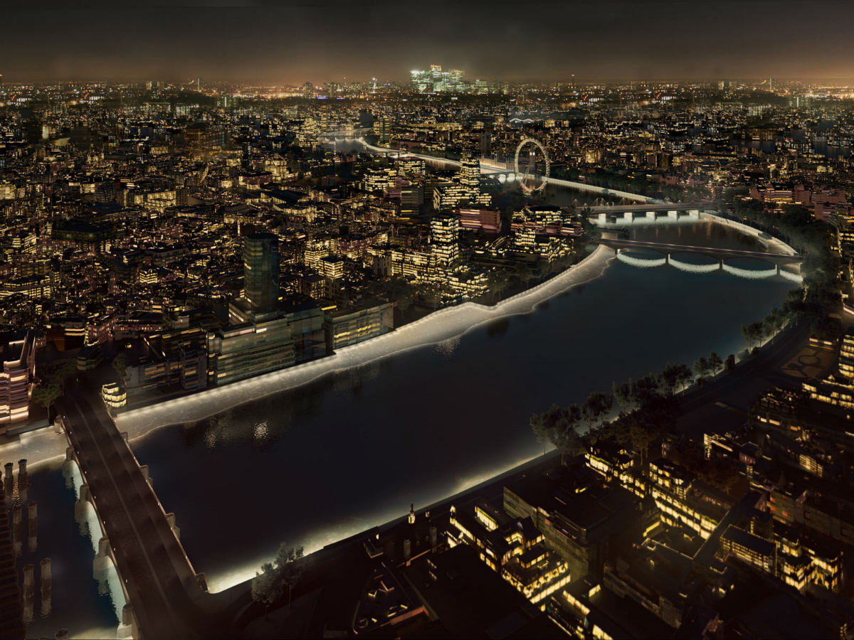 Top architecture firms battle for london 39 s illuminated for The best architecture firms in london