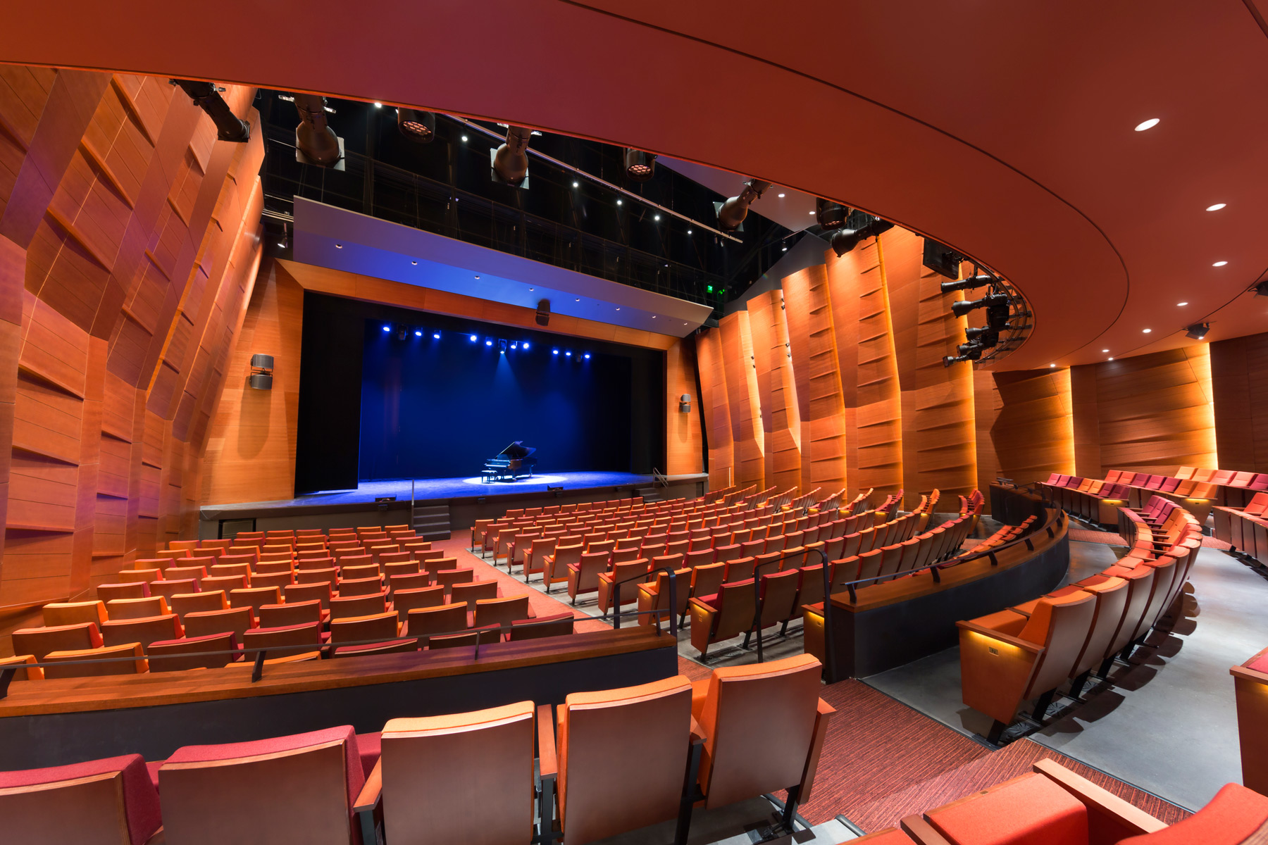 AVView of Proscenium Stage Archpapercom