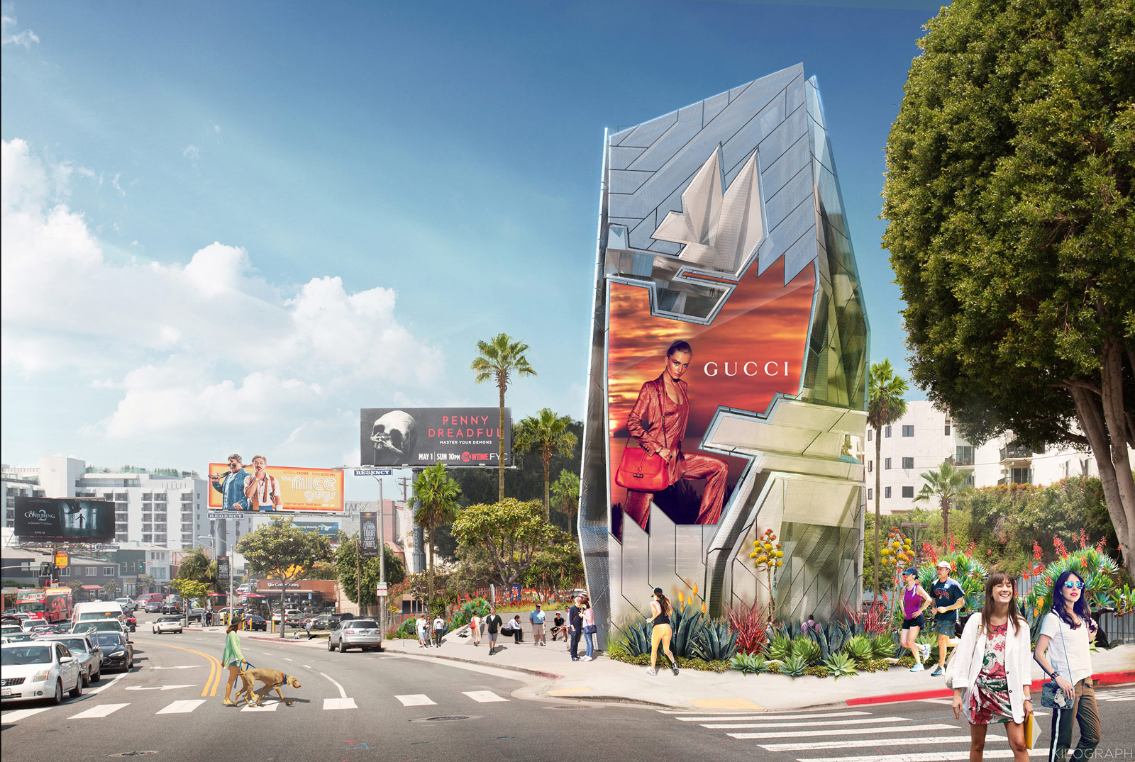More Details Emerge On Tom Wiscombe Architecture Sunset
