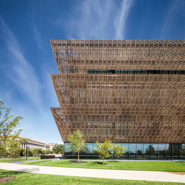 National Museum of African-American History and Culture by Freelon/Adjaye/Bond/Smith Group. (Darren Bradley/AN)