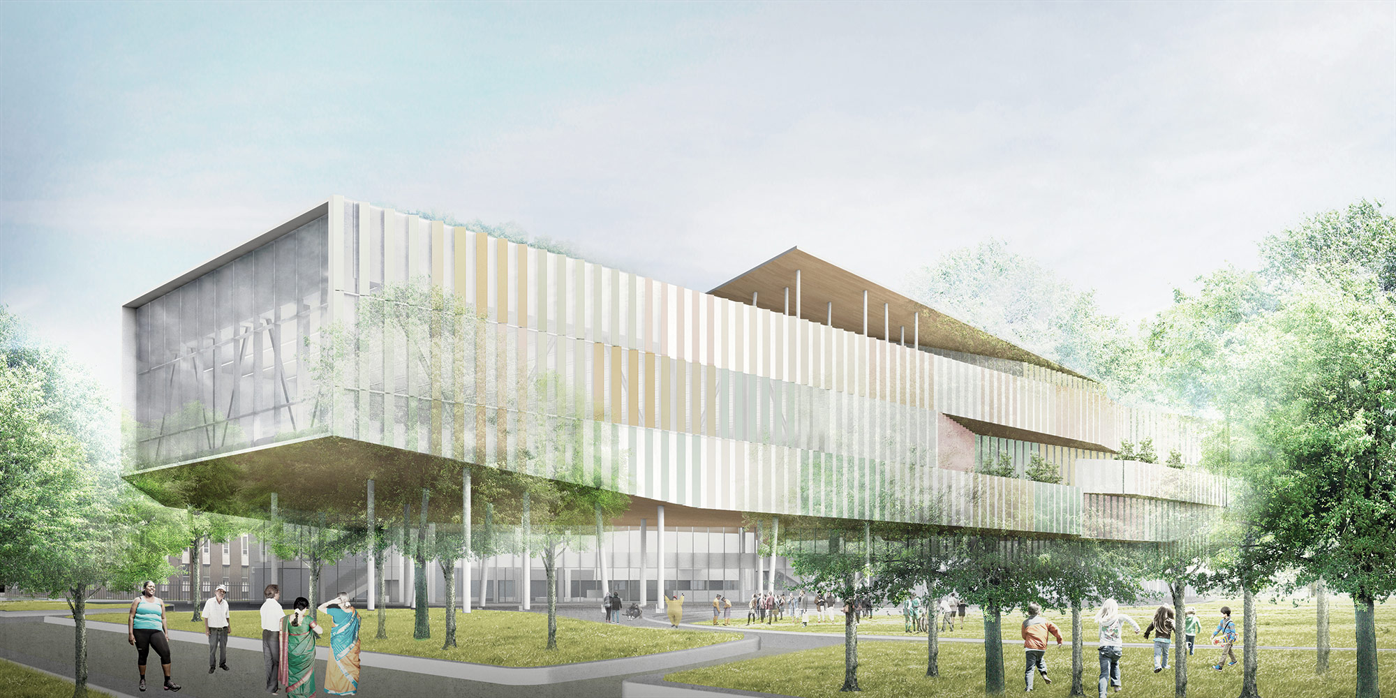 Major expansion and upgrade planned for toronto 39 s moss for Moss building design