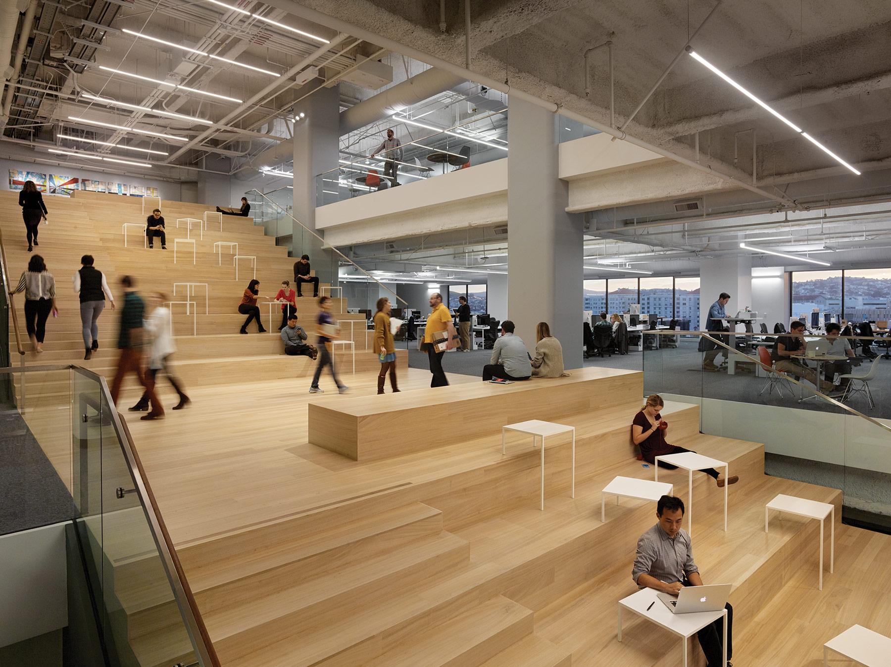 2016 Best Of Design For Workplace Bohlin Cywinski Jackson