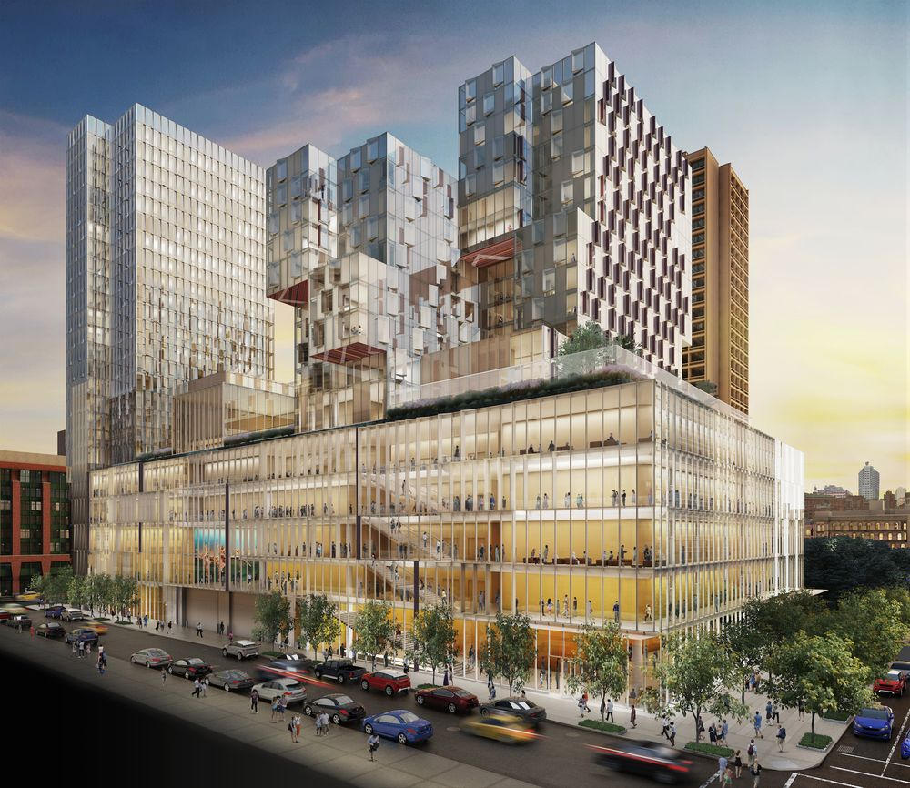 nyu reveals design for 181 mercer mixed use complex. Black Bedroom Furniture Sets. Home Design Ideas