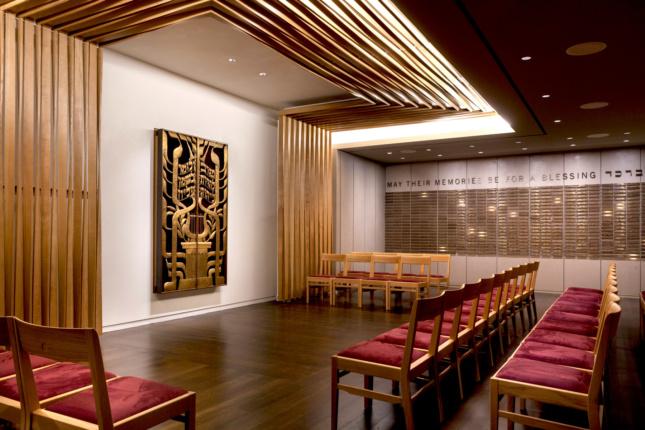 Congregation Beit Simchat Torah. (Courtesy Elizabeth Felicella/Esto)
