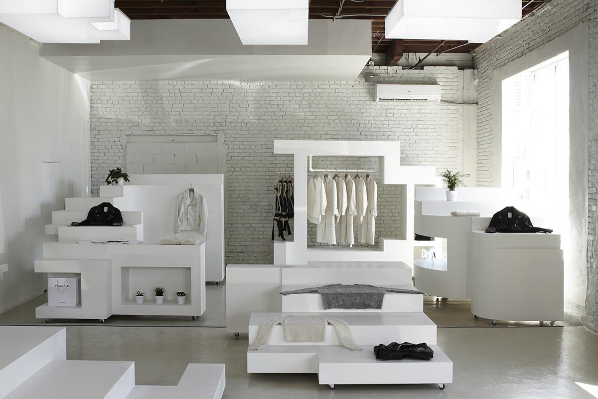 bureau spectacular designed frankie debuts in l a arts district. Black Bedroom Furniture Sets. Home Design Ideas