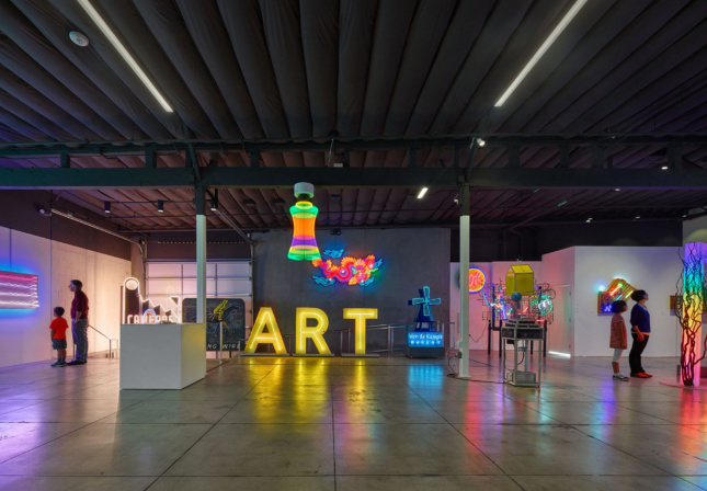 Museum of Neon Art. (Courtesy Fotoworks/Benny Chan)