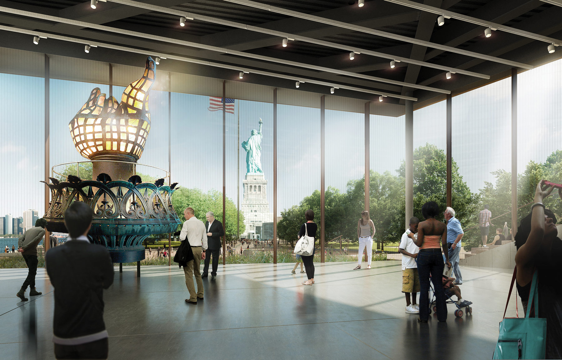 new details renderings emerge for statue of liberty