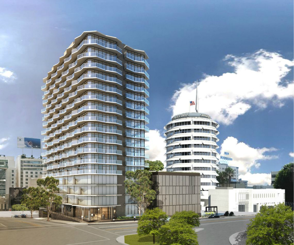 1755 argyle a midcentury modern inspired tower is coming Modern residential towers