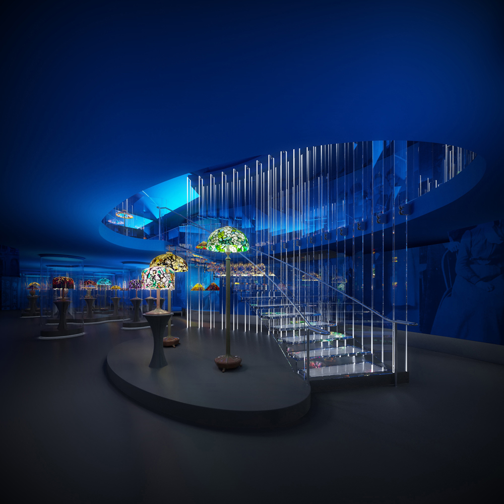 Architecture Design New York new york historical society tiffany lamps to feature in new 4th