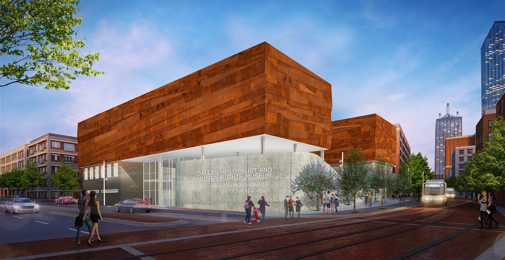 Dallas Holocaust Museum Inches Toward Construction.